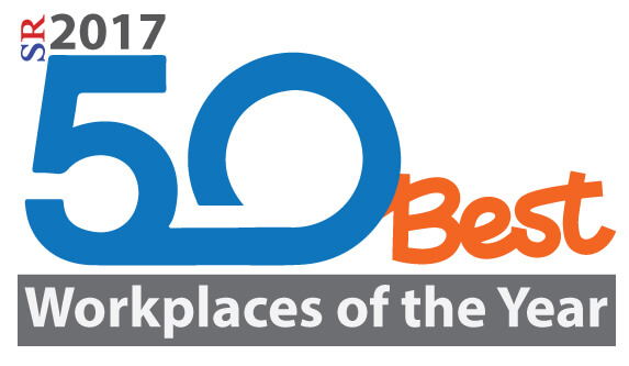 50 Best Workplaces of the Year 2017 - Brosix