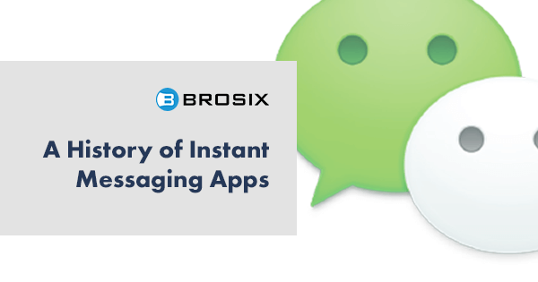 History of Instant messaging apps