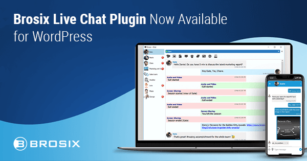 Brosix Live chat Plugin for Wordpress