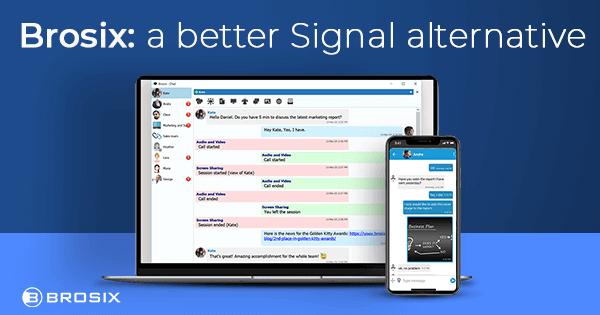 Brosix Alternatives to signal