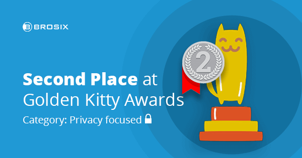 2nd-position on Privacy Focused