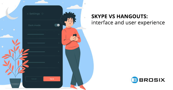 Skype Vs Hangouts interface and user experience