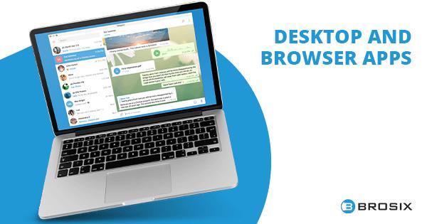Telegram Desktop and Browser apps