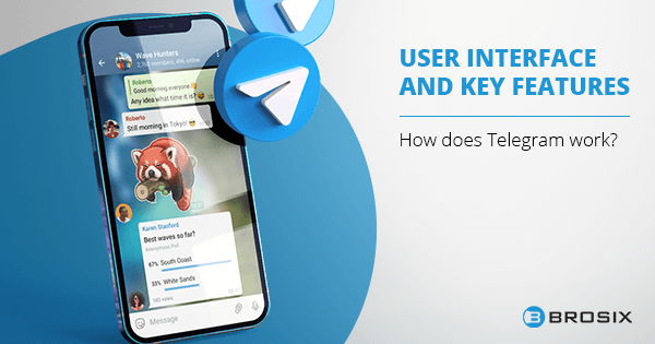 Telegram User Interface and Key Features