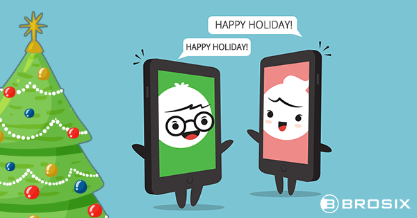Instant messaging in holidays