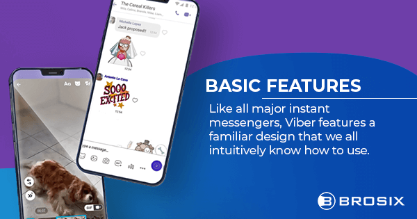 Viber Basic Features