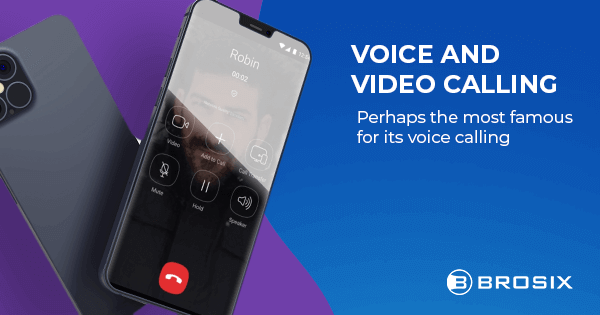 Voice and Video calling