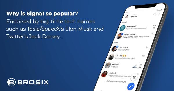 Signal is so popular