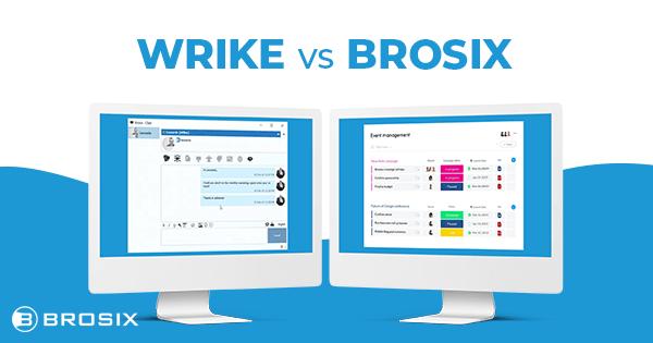wrike vs brosix