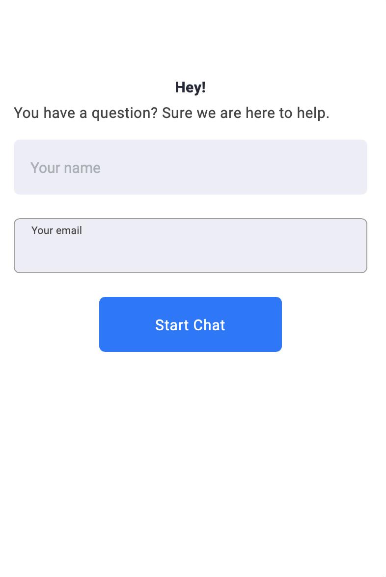 Brosix live chat window
