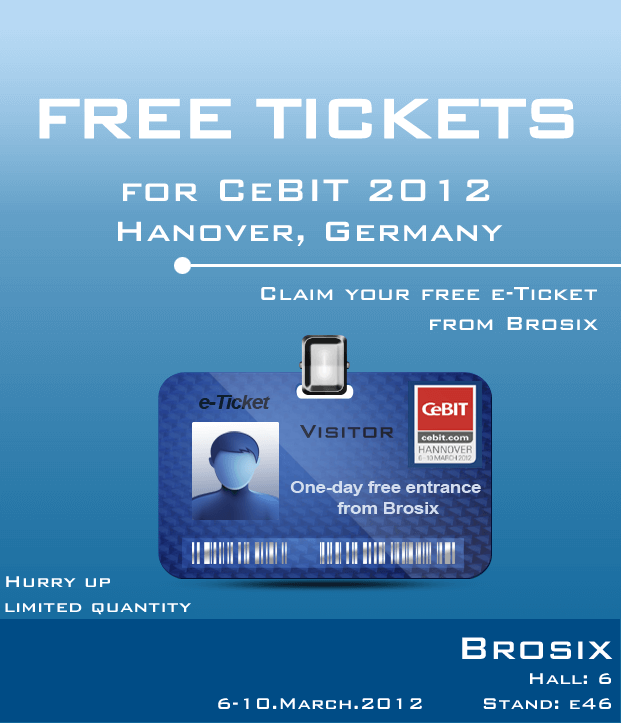 Tickets for CeBIT