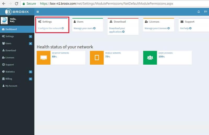 Private team network