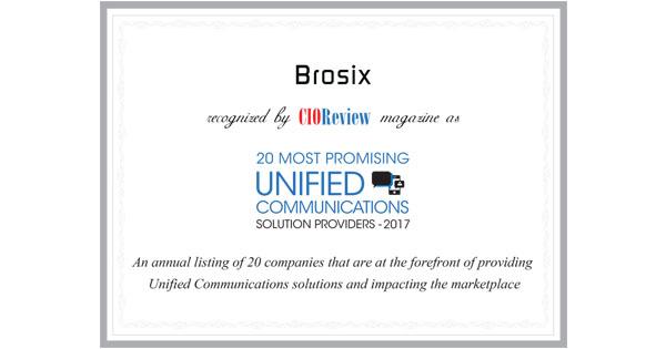brosix award