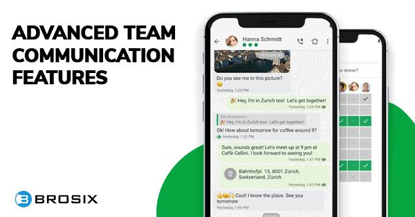threema advanced team communication features